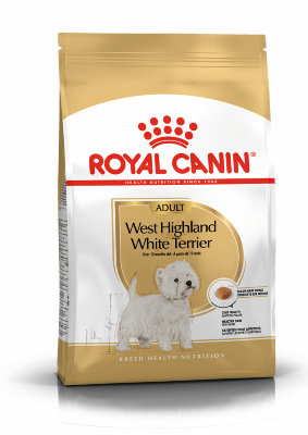 Сухой корм Royal Canin West Highland White Terrier Adult для Вест-Хайленд Уайт терьеров, 1,5 кг