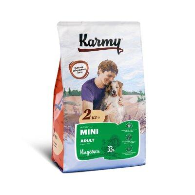 Сухой корм Karmy Mini Adult Индейка для взрослых собак мелких пород