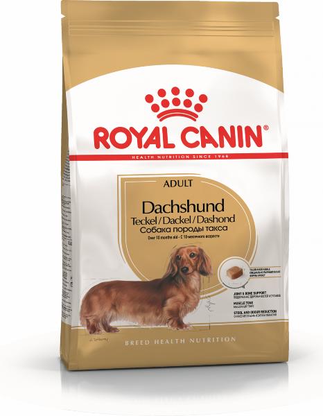 Сухой корм Royal Canin Dachshund Adult для взрослых собак породы Такса