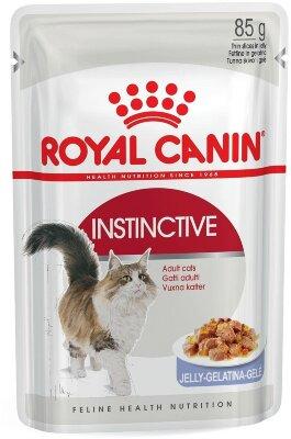 Паучи Royal Canin Instinctive в желе для кошек