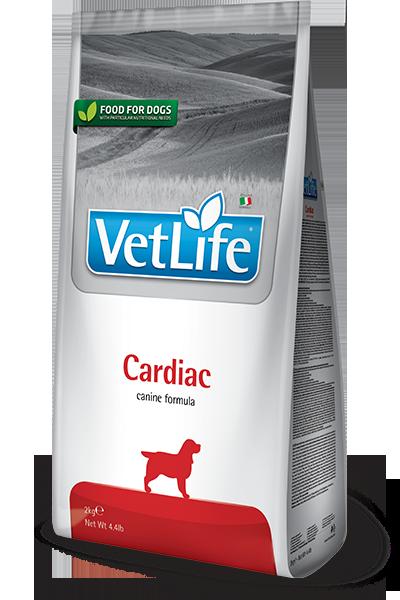 Сухой корм Farmina Vet Life Cardiac при хронической сердечной недостаточности у собак