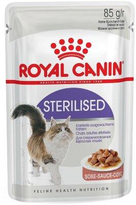 Паучи Royal Canin Sterilised в соусе для стерилизованных кошек