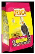 Корм Rio для средних попугаев в период линьки, 500г