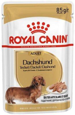 Паучи Royal Canin Dachshund Adult для взрослых Такс, паштет, 85г
