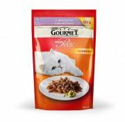 Паучи Gourmet Mon Petit для кошек с ягненком, 30шт x 50г
