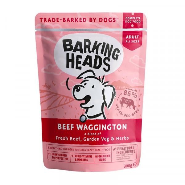 """Консервы Barking Heads для собак, пауч с говядиной """"Вуф-строганов"""""""
