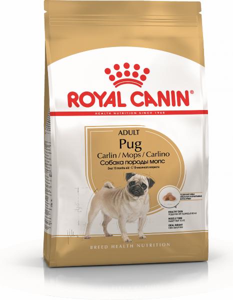 Сухой корм Royal Canin Pug Adult для взрослых собак породы Мопс