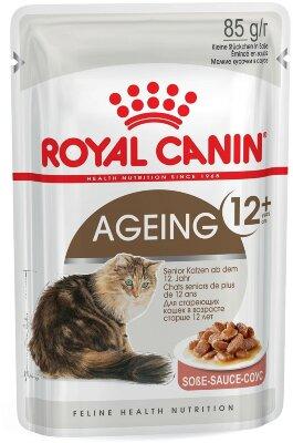 Паучи Royal Canin Ageing +12 в соусе для кошек старше 12 лет