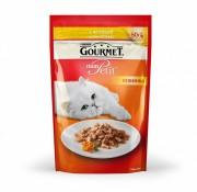 Паучи Gourmet Mon Petit для кошек с курицей, 30шт x 50г
