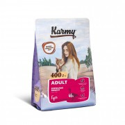 Сухой корм Karmy Adult для взрослых кошек с гусем