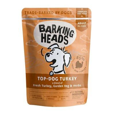 """Консервы Barking Heads для собак, пауч с индейкой """"Бесподобная индейка"""""""
