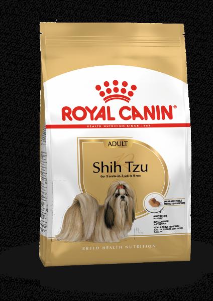 Сухой корм Royal Canin Shih Tzu Adult для взрослых собак породы Ши-Тцу