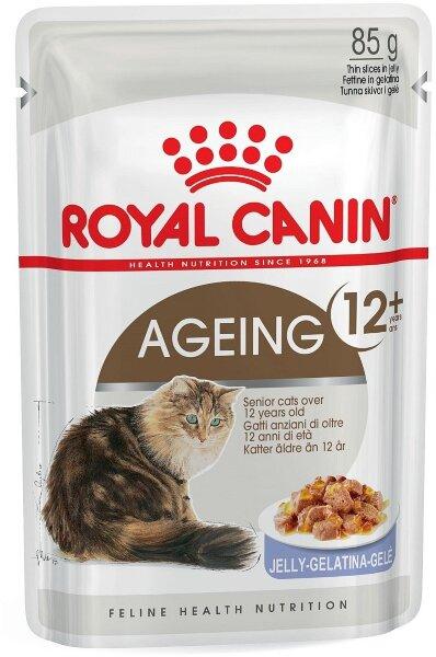 Паучи Royal Canin Ageing +12 в желе для кошек старше 12 лет