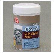 Мультивитамины для щенков 8in1 Excel Multi Vitamin Puppy (100 таб.)