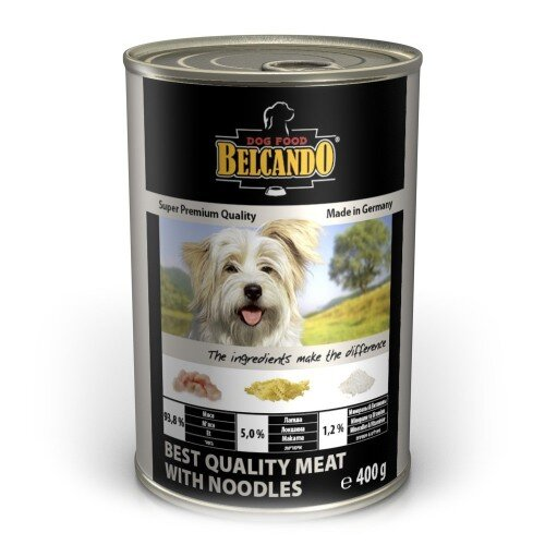Консервы для собак Belcando с отборным мясом и лапшой