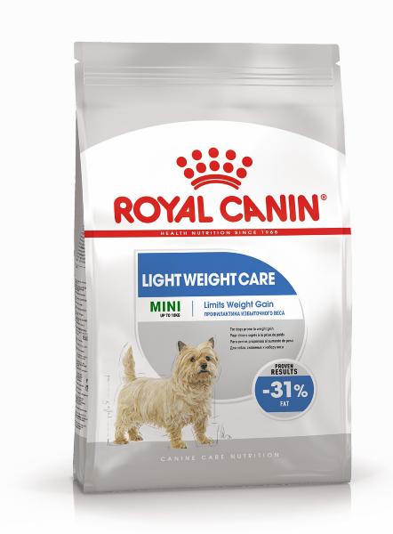 Сухой корм Royal Canin Mini Light Weight Care для собак мелких пород с избыточным весом