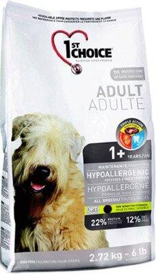 Сухой корм 1st Choice Adult Hypoallergenic гипоаллергенный для собак