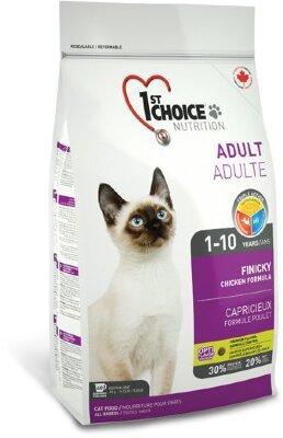 Сухой корм 1st Choice Adult Finicky для привередливых кошек