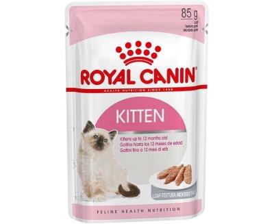 Паучи Royal Canin Kitten Instinctive в паштете для котят