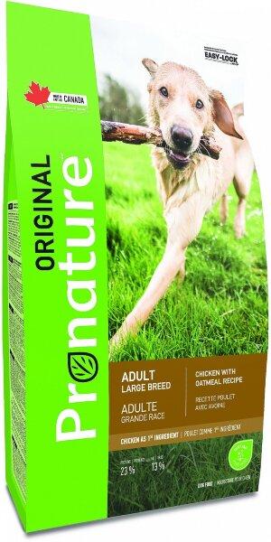 Сухой корм Pronature Original для собак крупных пород с курицей