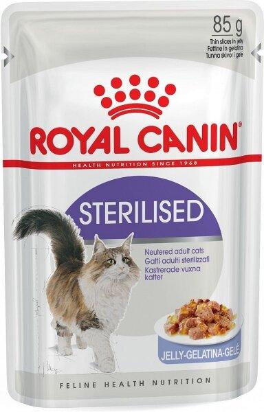 Паучи Royal Canin Sterilised в паштете для стерилизованных кошек