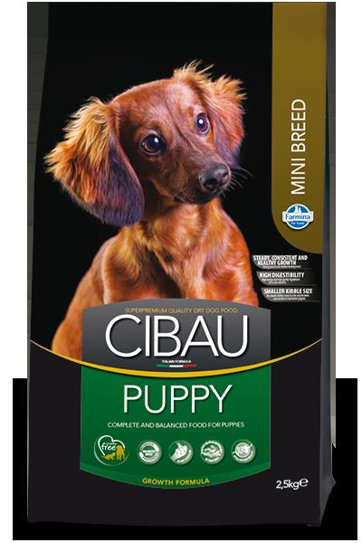 Сухой корм Farmina Cibau Puppy Mini для щенков мелких пород
