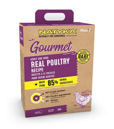 Сухой корм Natyka Gourmet Dog Adult Poultry для собак с Домашней птицей
