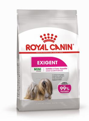 Сухой корм Royal Canin Mini Exigent для собак мелких пород, привередливых в питании