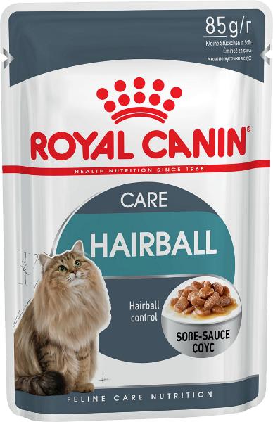 Паучи Royal Canin Hairball Care для выведения комочков шерсти у кошек