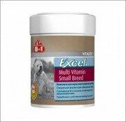 Мультивитамины для собак мелких пород 8in1 Excel Multi Vitamin Small Breed (70 таб.)
