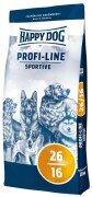 Сухой корм Happy Dog Profi Line Sportive 26-16 для взрослых активных собак, 20кг