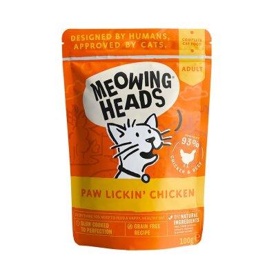 """Паучи Barking Heads для кошек с курицей и говядиной """"Куриное наслаждение"""""""