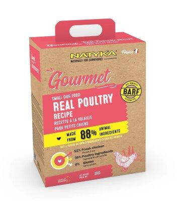 Сухой корм Natyka Gourmet Adult Small Dogs Poultry для собак малых пород с Птицей