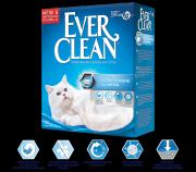 Наполнитель Ever Clean Extra Strong Clumping Unscented комкующийся без ароматизатора для чувствительных кошек, 10л