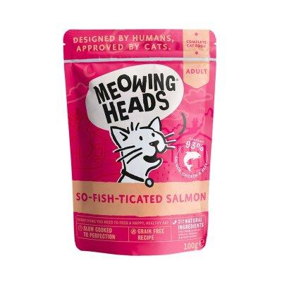 """Паучи Barking Heads для кошек с лососем, курицей и говядиной """"Фиш-гурман"""""""