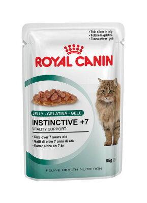 Паучи Royal Canin Instinctive +7 в желе для кошек старше 7 лет