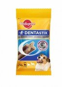 Лакомство Pedigree Denta Stix пластинки для снятия зубного камня у мелких собак, 110г