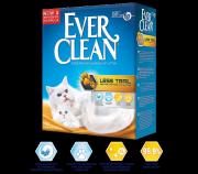 Наполнитель Ever Clean Less Trail комкующийся для длинношерстных кошек, 10л