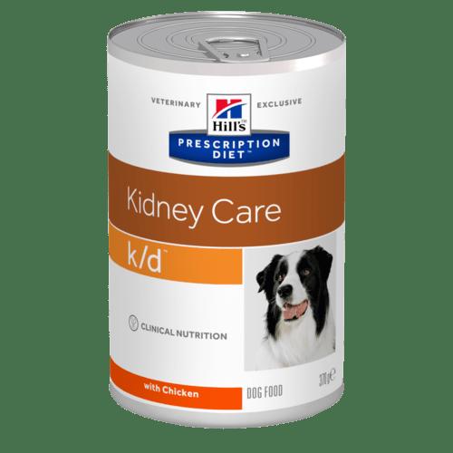 Консервы для собак Hill's Prescription Diet k/d для лечения заболеваний почек, 12шт x 354г