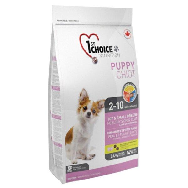 Сухой корм 1st Choice Puppy для щенков декоративных пород, 2,72кг