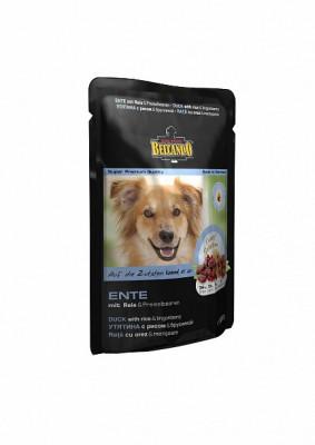 Паучи для собак Belcando с уткой, рисом и брусникой, 12шт x 125г