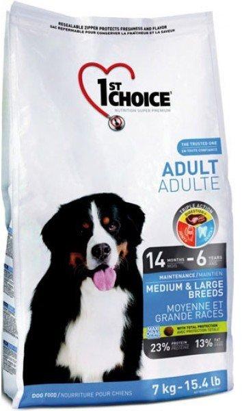 Сухой корм 1st Choice Adult Medium & Large Breeds для собак средних и крупных пород