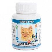 Витамины для котят Вака, 80 таб