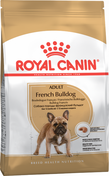 Сухой корм Royal Canin French Bulldog Adult для взрослых Французских Бульдогов, 3 кг