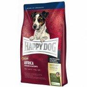 Сухой корм Happy Dog Mini Africa гипоаллергенный для собак мелких пород, склонных к аллергиям и с чувствительным пищеварением, 4кг