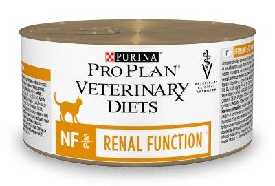 Консервы Pro Plan Veterinary Diets NF для кошек при патологии почек, 24шт x 195г