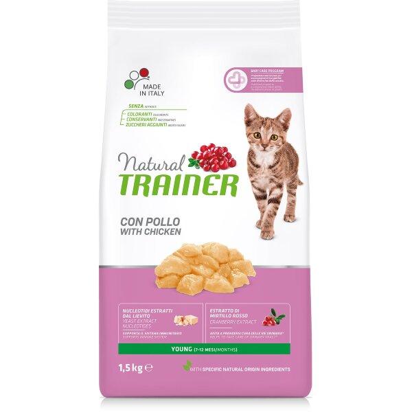 Сухой корм Trainer Natural Young Cat для молодых котов и кошек от 7 до 12 месяцев