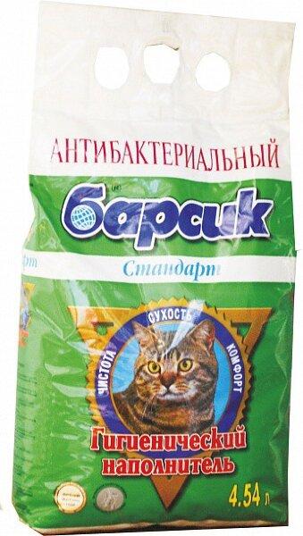 Наполнитель для кошачьего туалета Барсик Стандарт впитывающий