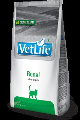 Сухой корм Farmina Vet Life Cat Renal для кошек при заболеваниях почек