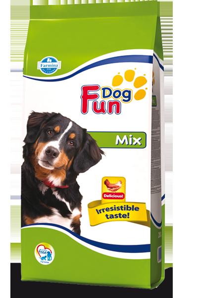 Сухой корм для взрослых собак Farmina Fun Dog Mix